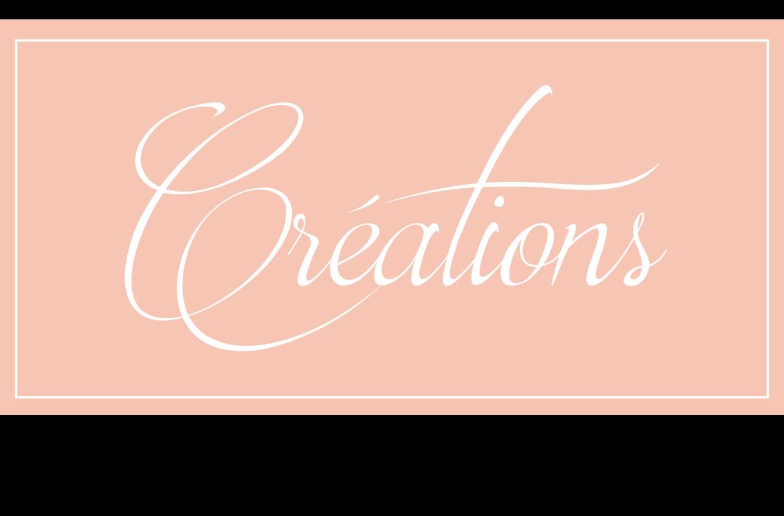 Bouton creations pour site