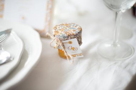 Etiquette cadeau d'invités